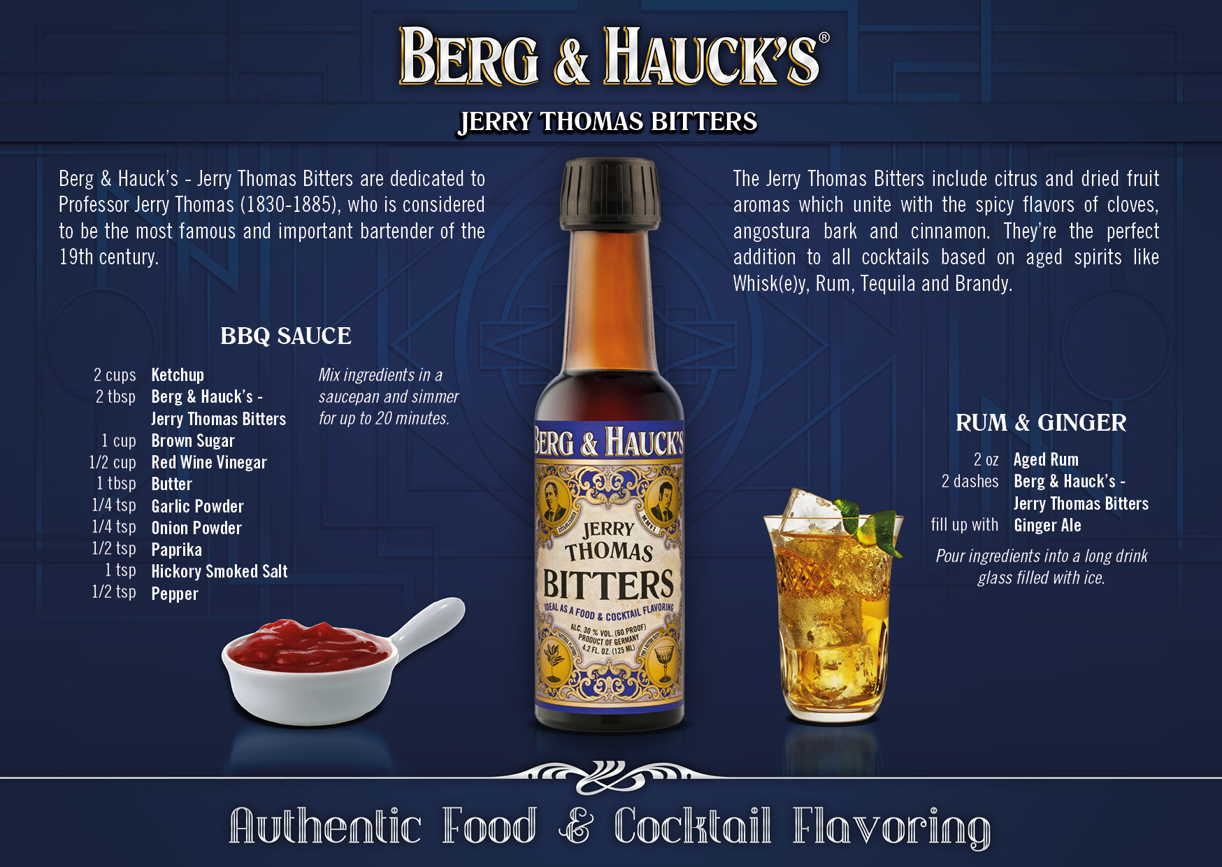 Berg & Hauck Jerry Thomas Bitters 118 ml